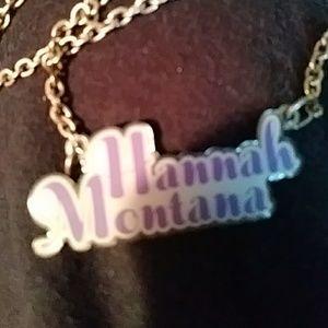 Disney Hannah Montana necklace